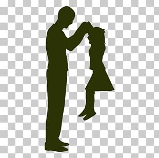 Father Daughter Silhouette Son PNG