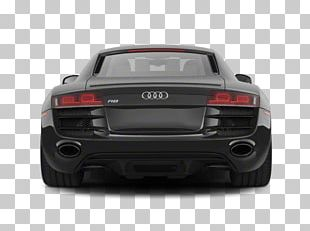 Audi R8 Supercar Exhaust System PNG