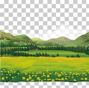 Landscape Theatrical Scenery PNG