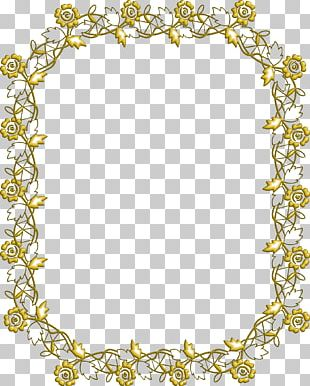 Flower Floral Design Frames Pattern PNG