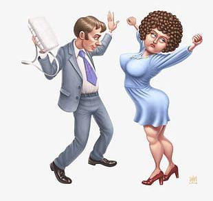 Dancing Men And Women PNG