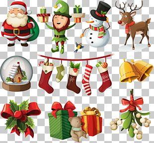 Santa Claus Christmas Ornament Christmas Tree PNG