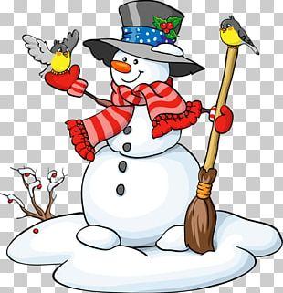 Snowman Drawing PNG