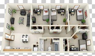 3D Floor Plan Bedroom Interior Design Services House PNG