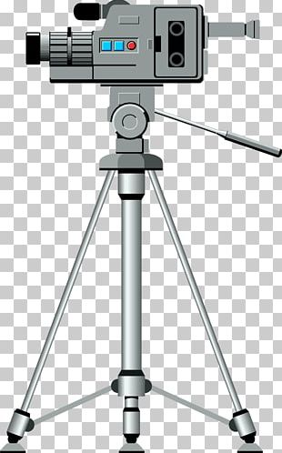 Video Camera Tripod PNG