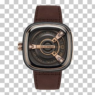 SevenFriday Automatic Watch Miyota 8215 Strap PNG
