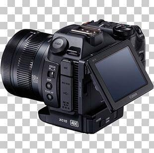 Canon XC15 Video Cameras 4K Resolution Canon XC10 PNG
