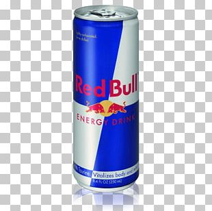 Red Bull Can PNG