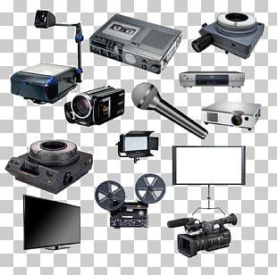 Professional Audiovisual Industry Multimedia Projectors Video Cameras PNG