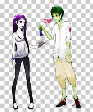Beast Boy Raven Starfire Teen Titans Young Justice PNG