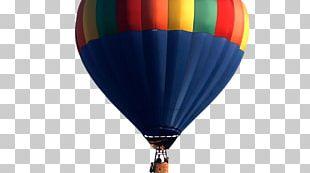 Hot Air Balloon Air Sports Cobalt Blue PNG