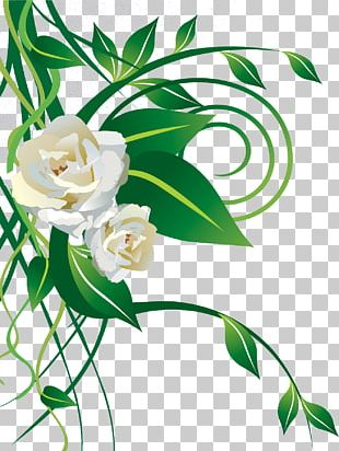 Father's Day Christmas White Rose Gift PNG