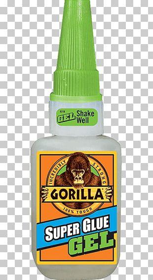 Gorilla Glue Cyanoacrylate Adhesive Wood Glue Gel PNG