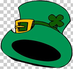 Hat Shamrock Saint Patricks Day PNG