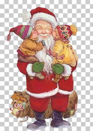 Santa Claus Christmas Day Christmas Ornament Saint Nicholas Day Christmas Card PNG