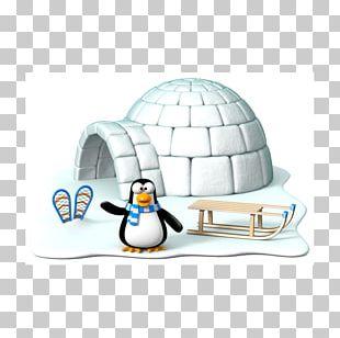Club Penguin Igloo Arctic Razorbills PNG