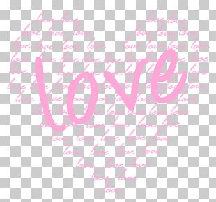 Heart Valentine's Day Pink PNG