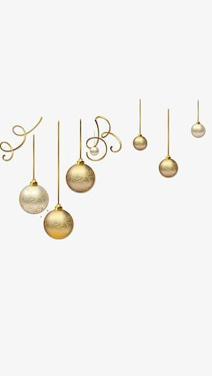 Christmas Decoration Balls PNG