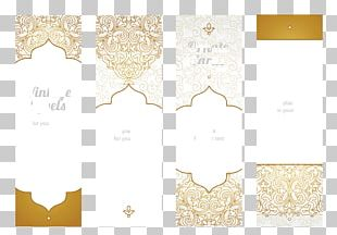 Ethnic Pattern Cards PNG