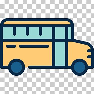 School Bus Transport Icon PNG
