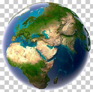 World Map Globe Fairfax Baptist Temple Earth PNG