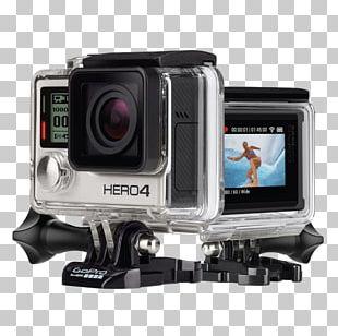 GoPro HERO4 Silver Edition GoPro HERO4 Black Edition Action Camera 4K Resolution PNG