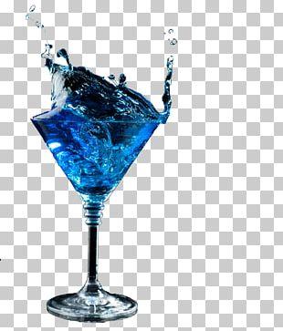 Blue Hawaii Blue Lagoon Cocktail Martini Margarita PNG