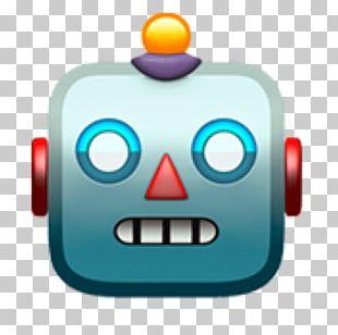 Emoji Domain Emoticon Robot Apple Color Emoji PNG