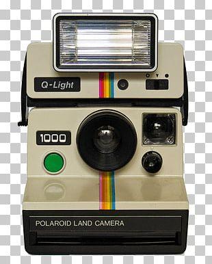 Vintage Polaroid Camera PNG