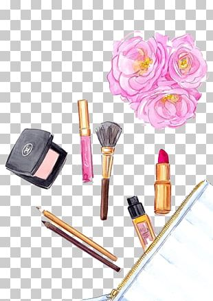 Cosmetics Drawing Foundation Makeup Brush Lipstick PNG