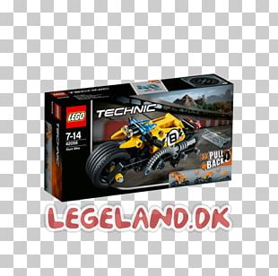 Lego Technic Toy Lego Minifigure Motorcycle PNG
