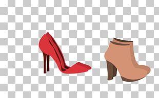 High-heeled Footwear Sandal Shoe PNG