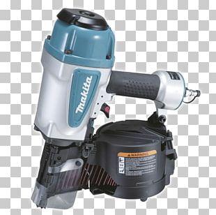 Nail Gun Makita AN902 Framing Coil Nailer Makita AN611 Coil Siding Nailer Tool PNG
