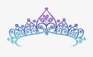 Hand-painted Crown PNG