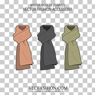 Scarf Outerwear Drawing Clothing Accessories PNG