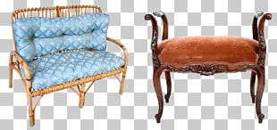 Furniture Chair Couch Wicker PNG