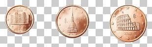 Euro Coins 5 Cent Euro Coin 1 Cent Euro Coin PNG