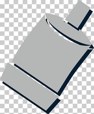 Bottle Grey Angle PNG