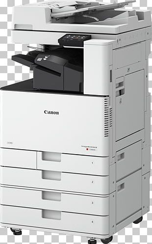 Canon Photocopier Multi-function Printer Color Printing PNG