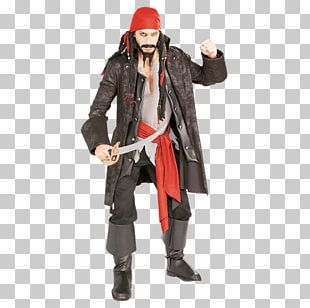Jack Sparrow Costume Party Piracy Halloween Costume PNG