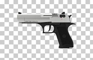 Pistol IMI Desert Eagle Weapon Air Gun Shotgun Shell PNG