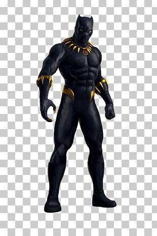 Black Panther Superhero Hulk Wakanda Fantastic Four PNG