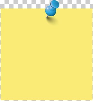 Paper Post-it Note Yellow Font PNG
