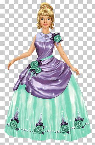 Prince ETC Barbie Costume Design Purple PNG