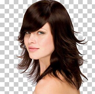 Hair Coloring Brown Hair Human Hair Color Hairstyle PNG