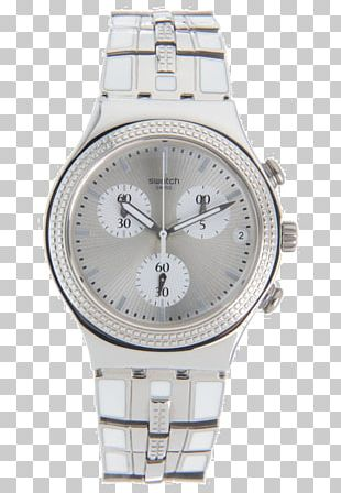Silver Watch Strap Product Design PNG