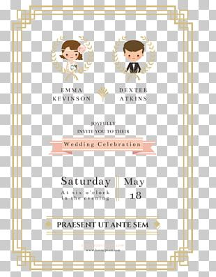 Wedding Invitation Paper Marriage PNG