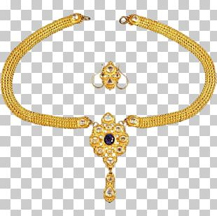 Necklace Earring Gold Jewellery Bracelet PNG