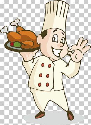 Roast Chicken Chef Cooking Chicken Nugget PNG