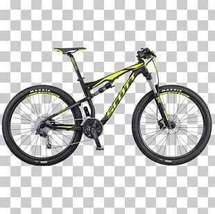 Scott Sports Mountain Bike Bicycle 29er Suspension PNG